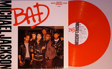 Michael Jackson - Bad - vinyle rouge 33 tours édition limitée