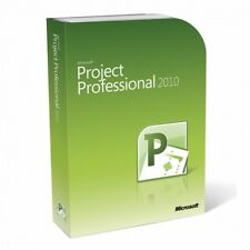 Microsoft Project Professional 2010 - New - Full Version - Download
