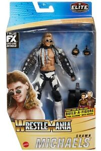 WWE SHAWN MICHAELS WRESTLEMANIA 37 ELITE FIGURE SERIES MATTEL WRESTLING FIGURE