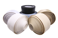 Skirting Board - Flexible - Self Adhesive tape 5 10 15 meters White, Black, Grey