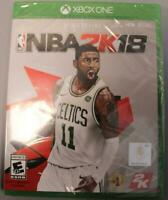 NBA 2K18 (Xbox One, 2017) XB1 Video Game | Brand New | Kyrie Irving