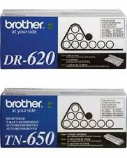 8 Virgin EMPTY & USED Brother TN-620 TN-620 DR-620 Toner Cartridges & Drums