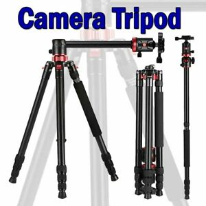 Camera Tripod Travel Compact Aluminium Monopod Professional With Ball Head New