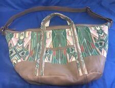 ISABELLA FIORE Multi Color Leather Hobo/ Tote Shoulder/ CrossBody Handbag ()