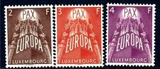 LUXEMBOURG-1957 Europa set Sg 626-8 UNMOUNTED MINT V18157