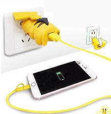 POKEMON Pikachu Handy USB Adapter Netzteil Charger Ladegerät PVC Figur 5V/2A