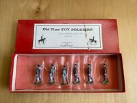 Lead Old Time Toy Soldiers French Chasseurs Alpine Britains 1914 Selling As-Is