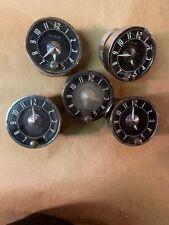 1958 - 1962 Corvette 1955 1956 Chevy Oem Clocks Lot Of 5