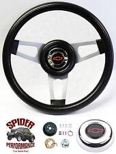 """1960-1969 Chevy pickup steering wheel BOWTIE 13 3/4"""" custom steering wheel"""