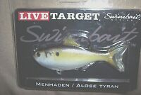 Live Target Swimbait Gizzard Shad Fishing Lure Shad Bass Lure Shad Minnow Lure