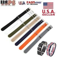 18mm 20mm 22mm Ballistic Durable Nylon Military Nylon Wrist Watch Band Straps US