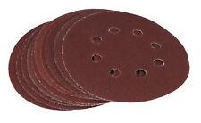 Hook & Loop 125 mm dischi abrasivi, carta vetrata circolare ORBITALE PADS Misti 10 PEZZI
