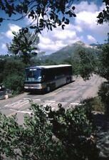 Drake Tours Mci bus Kodachrome original Kodak slide