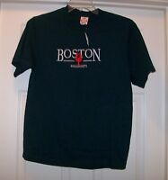 Men's T Shirt  Blue Boston Medium New With Tags