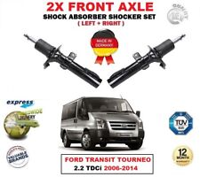 FOR FORD TRANSIT TOURNEO 2.2 TDCi 2006-2014 2X FRONT LEFT RIGHT SHOCK ABSORBERS