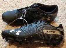 New! Under Armour Size 10 Nitro Football Cleats Black