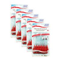 TEPE Interdental brush 0.5mm 5 pack of 8 BRUSHES RED