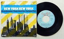 GRANDMASTER FLASH & FURIOUS FIVE New York New York SUGAR HILL German Press BB654