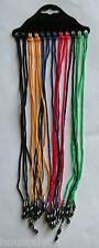 Lot de 12 cordons couleurs pour lunettes