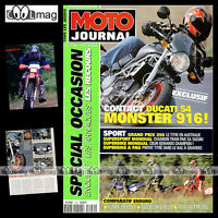 MOTO JOURNAL N°1442 DUCATI MONSTER S4 ★ YAMAHA 250 TTR ★ SUZUKI DR-Z 400 S 2000