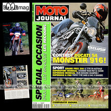 MOTO JOURNAL N°1442 DUCATI MONSTER S4 ★ YAMAHA 250 TTR ★ SUZUKI DR-Z 400 S 2000