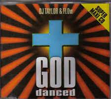 DJ Taylor&Flow-God Danced cd maxi single 11 tracks eurodance