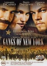 Gangs Of New York (DVD, 2003, 2-Disc Set) B15-AP18- LIKE NEW
