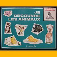 Collection La Joie d'Apprendre JE DÉCOUVRE LES ANIMAUX B. Morris Parker 1972