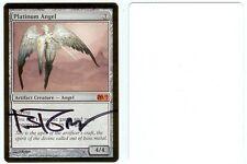 Magic MTG SIGNED Artist Proof _ Brom _ M11 SET _ PLATINUM ANGEL _ 1/50!