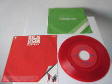 Rich Kids Rich Kids / Empty Words Japan Red Vinyl 7 inch Single Ure Ultravox