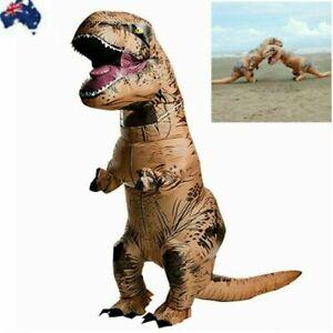 Adult/Kids Inflatable Dinosaur Costume Adult Jurassic World Park Trex T Rex Blow