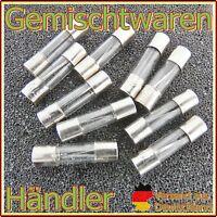 10 x Feinsicherung Glassicherungen KFZ Sicherung 50A 6x32mm Flink