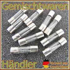 10 x Feinsicherung Glassicherung Flink 6 x 30 mm Sicherungen Fuse US 0,5 - 30A