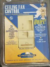 NEW SEALED Ceiling Fan Control Wall Switch 3 Speeds By Harbor Breeze
