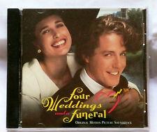 FOUR WEDDINGS AND A FUNERAL Original Soundtrack CD USA 1994