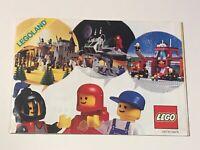 OFFICIAL LEGO LEGOLAND 1986 CATALOGUE BROCHURE BOOKLET