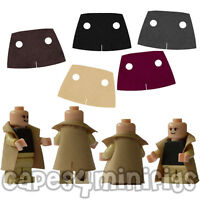 3 CUSTOM polycotton Short Trench coat / capes for your Lego minifig. NO MINIFIGS