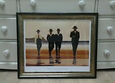 The Billy Boys Jack Vettriano Large Deluxe Framed Art Print Romantic