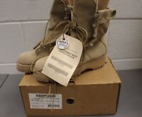 Wellco Temperate Weather Army Combat Boot, Tan, 3.5R, 8430-01-516-1544, New