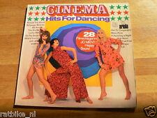LP RECORD VINYL PIN-UP GIRL CINEMA HITS FOR DANCING ARIOLA FLOWER POWER