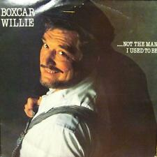 Boxcar Willie(Vinyl LP)Not The Man I Used To Be-Spartan-SPLP 002-UK-VG/VG+