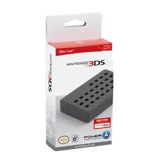 CUSTODIA NINTENDO 3DS FLEX CASE SILICONE UFFICIALE NUOVO GRIGIO POWER A