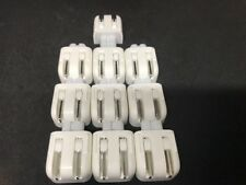 Lot of 10 Genuine Apple MagSafe  Wall Adapters DUCKHEAD 2 PRONG PLUG 45W 60W 85W