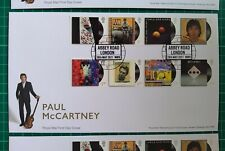 2021 Paul McCartney Set of 8 on FDC Abbey Road London