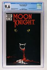 Moon Knight #29 - Marvel 1983 CGC 9.6 Werewolf (Jack Russell) Appearance.