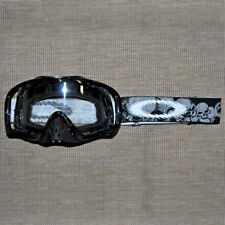 OAKLEY CROWBAR MX GOGGLES DEATH BLACK SKULLS MX - BIKE - ENDURO - JETSKI