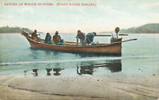 Seattle WA * Puget Sound Indians * Return of Whale Hunters ca 1908