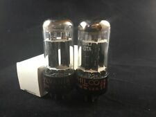 PAIR SYLVANIA Made 6BL7GTA Audio VACUUM TUBES Tested NOS On TV-7 #10.5361