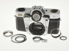 """Zeiss Ikon Contarex Bullseye """"Ciclope"""" disassembled and not complete"""