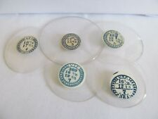 Antique/Vintage hunter pocket watch glasses new old stock with labels